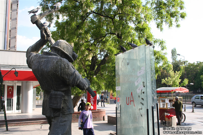 Miner Statue Photo Gallery (Ankara, Bakanliklar)