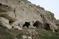 Mahkeme Agacin Village Photo Gallery 10 (Cave Churches) (Ankara, Kizilcahamam)