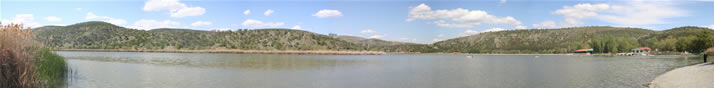 Panorama of Lake of Eymir (Ankara)
