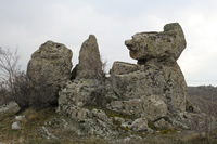 Taslica Village Photo Gallery 4 (Rocks) (Ankara, Kizilcahamam)