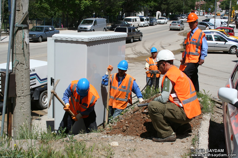 Turkish Telecom Outside Plant Work Photo Gallery 1 (Ankara)