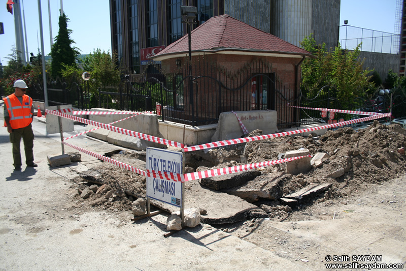 Turkish Telecom Outside Plant Work Photo Gallery 4 (Ankara)