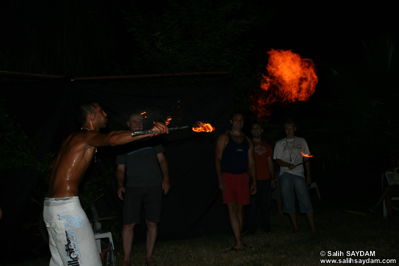 Fire Dancing Photo Gallery 4 (Antalya, Alanya)