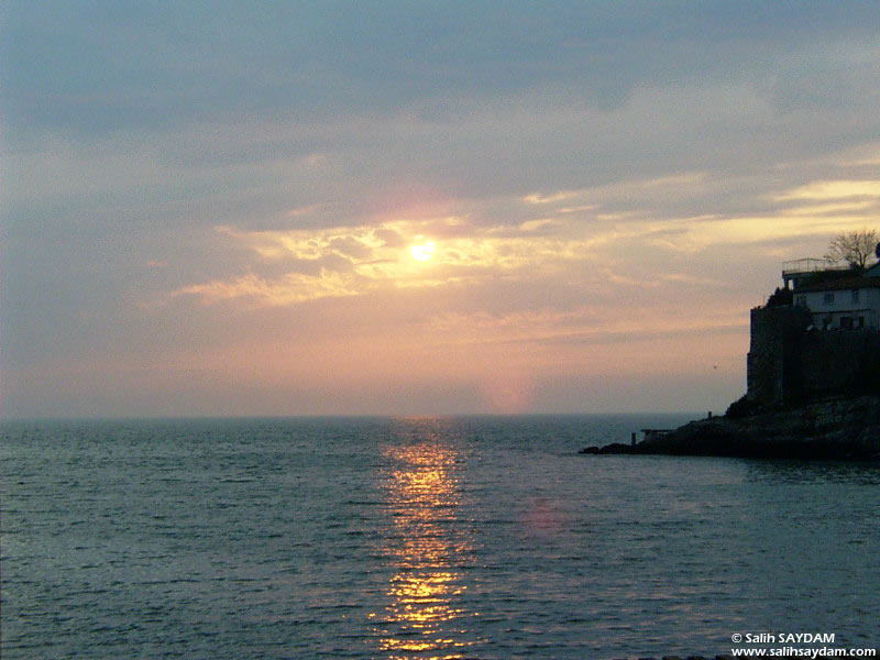 Sunset in Amasra Photo Gallery 1 (Bartin, Amasra)
