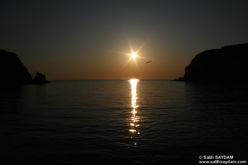 Sunset in Amasra Photo Gallery 2 (Bartin, Amasra)
