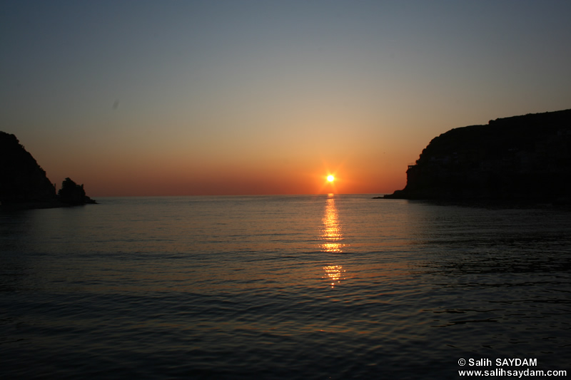 Sunset in Amasra Photo Gallery 5 (Bartin, Amasra)