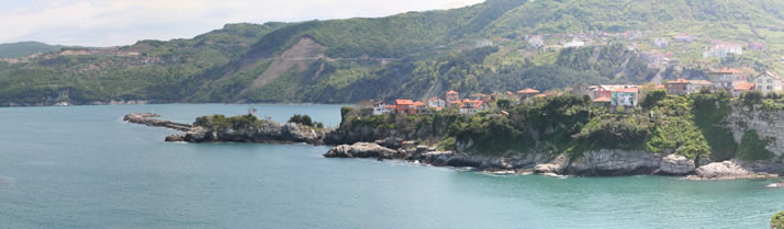 Panorama of Great Harbour 1 (Bartin, Amasra)