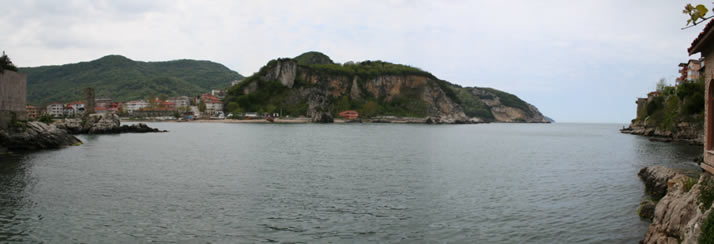 Panorama of Little Harbour 1 (Bartin, Amasra)