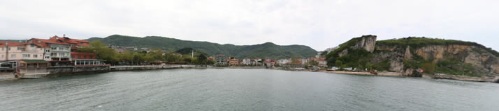 Panorama of Little Harbour 4 (Bartin, Amasra)