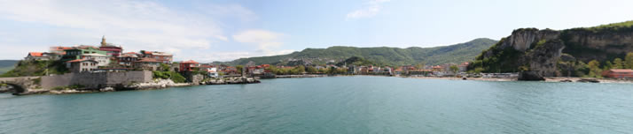 Panorama of Little Harbour 12 (Bartin, Amasra)