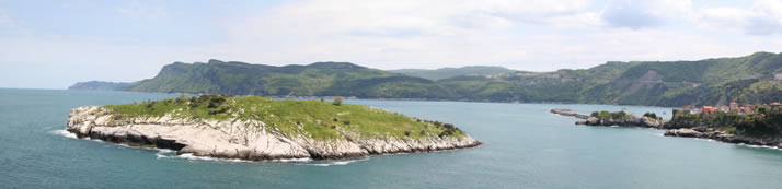 Panorama of Rabbit Island 1 (Bartin, Amasra)
