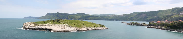 Panorama of Rabbit Island 2 (Bartin, Amasra)