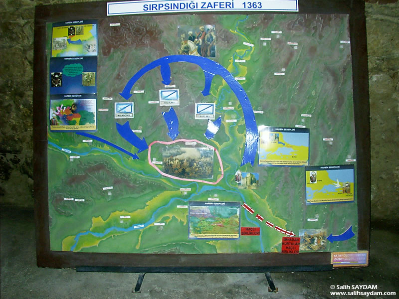 Sukru Pascha Memorial and Balkan War Museum Photo Gallery 7 (War Plans) (Edirne)