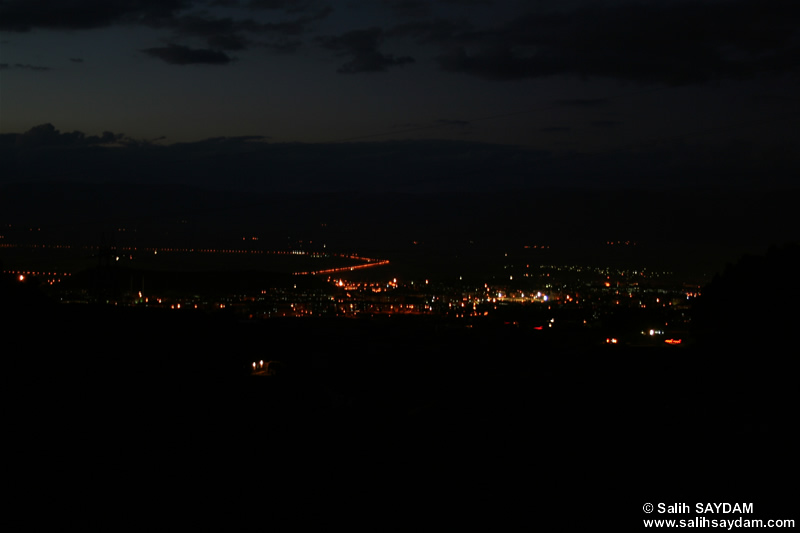 Landscapes from Erzurum Photo Gallery 2 (From Palandoken, at Night) (Erzurum)