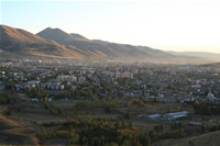 Landscapes from Palandoken Mounts and Erzurum Photo Gallery 3 (From Mecidiye Bastion) (Erzurum)