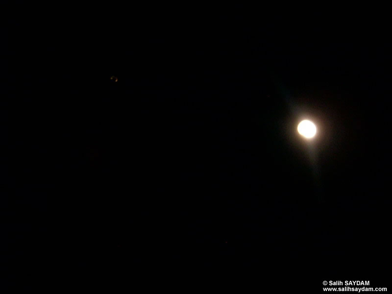 Fullmoon and Venus Photo Gallery (Izmir)
