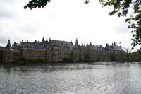 Hofvijver and The Dutch Parliament Photo Gallery (The Hague (Den Haag), Netherlands (Holland))