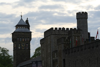 Cardiff Castle Photo Gallery 01 (Whales, United Kingdom)