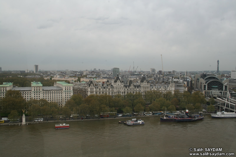 City Views from London Photo Gallery 04 (From London Eye) (England, United Kingdom)