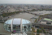 City Views from London Photo Gallery 05 (From London Eye) (England, United Kingdom)