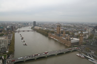 City Views from London Photo Gallery 06 (From London Eye) (England, United Kingdom)