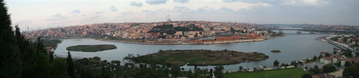 Panorama of Istanbul from Hill of Pierre Lotti 3 (Istanbul)
