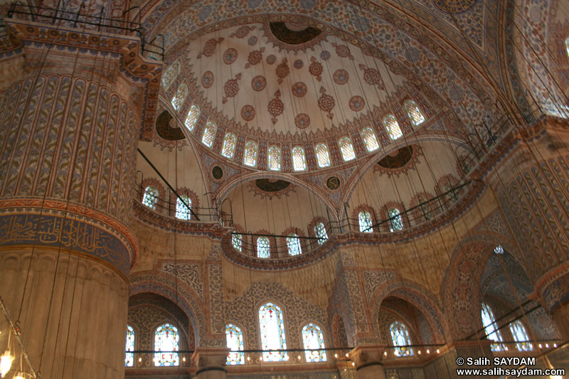 Blue Mosque (Sultan Ahmet Mosque) Photo Gallery 3 (Istanbul)