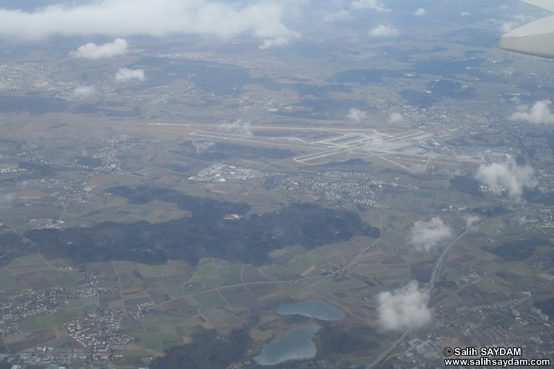 Switzerland Landscapes from Plane Photo Gallery (Switzerland)