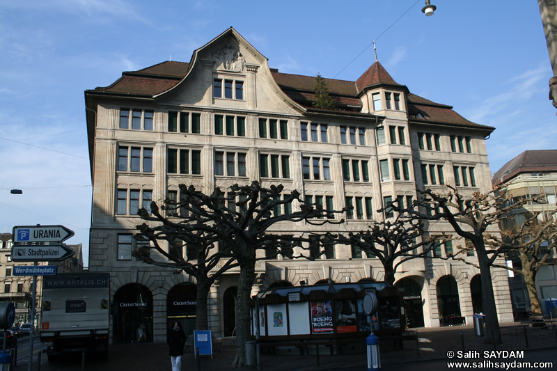 Zurich Photo Gallery 8 (Werdmühleplatz) (Switzerland)