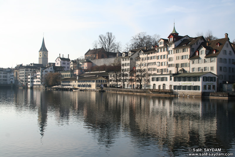 Zurich Photo Gallery 10 (Limmat River) (Switzerland)