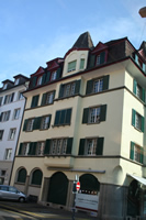 Zurich Photo 16 (Badenerstrasse and Elsastrasse Corner) (Switzerland)
