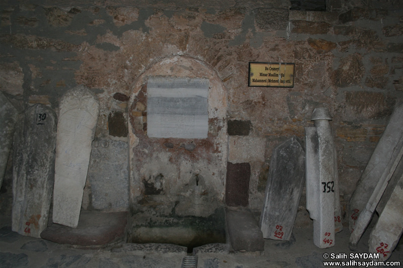 Cesme Castle Photo Gallery 5 (Fountain) (Izmir, Cesme)