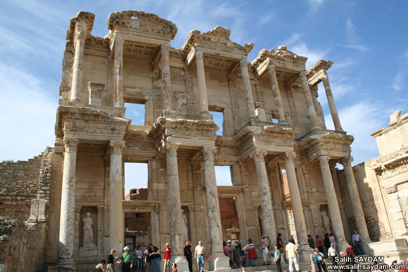 Ephesus Antique City Photo Gallery 9 (Library of Celsus) (Selcuk, Izmir)