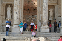 Ephesus Antique City Photo Gallery 12 (Library of Celsus) (Selcuk, Izmir)
