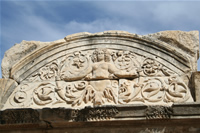 Ephesus Antique City Photo Gallery 16 (Temple of Hadrian) (Selcuk, Izmir)