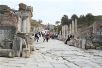 Ephesus Antique City Photo Gallery 18 (Street of the Curetes) (Selcuk, Izmir)