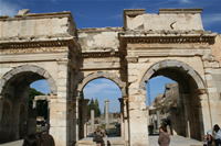 Ephesus Antique City Photo Gallery 23 (The Gate of Mazeus and Mythridates) (Selcuk, Izmir)
