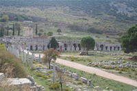 Ephesus Antique City Photo Gallery 31 (Commercial Agora) (Selcuk, Izmir)