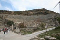 Ephesus Antique City Photo Gallery 33 (Theatre) (Selcuk, Izmir)
