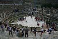 Ephesus Antique City Photo Gallery 34 (Theatre) (Selcuk, Izmir)