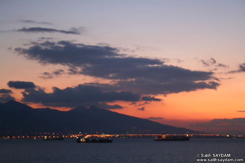Sunset in Izmir Bay Photo Gallery 6 (Izmir)