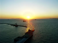 Sunset in Izmir Bay Photo Gallery 2 (Izmir)
