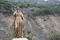 House of Virgin Mary Photo Gallery 4 (Sculpture) (Selcuk, Izmir)