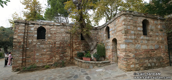 Panorama of House of Virgin Mary (Selcuk, Izmir)