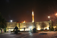 Hunat Mosque and Hunat Hatun Complex (At Night) Photo Gallery (Kayseri)