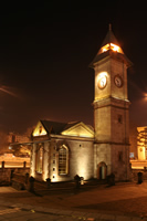Clock Tower (At Night) Photo Gallery 2 (Kayseri)