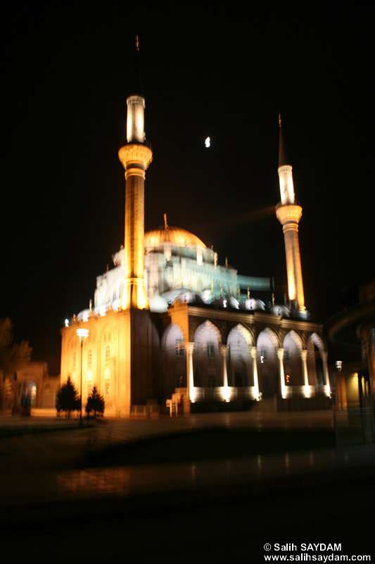 New Mosque Photo (At Night) (Kayseri)