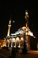 New Mosque (At Night) Photo Gallery 2 (Kayseri)