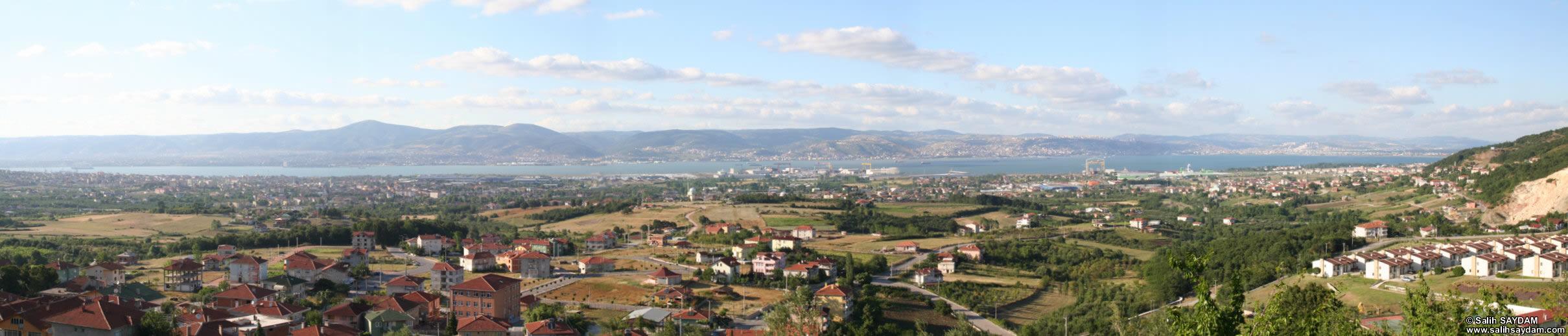 Panorama of Izmit Bay (Kocaeli (Izmit)) Bay