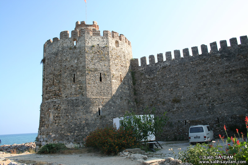 Anamur Castle (Mamure Castle) Photo Gallery 1 (Mersin, Anamur)
